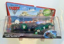 Disney Pixar Cars 2 Nigel Gearsley Pit Stop Launcher- Bad packaging