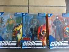 Gi Joe Classified Lot Of 3 New Roadblock duke Cobra Commander