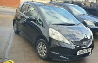 2010 HONDA JAZZ 5 DOOR HATCHBACK AUTOMATIC 1.3 PETROL IN BLACK 68329 MILES
