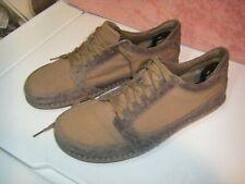 Patagonia Tawa Cardamom Skywalk Leather Hemp Canvas Brown Shoe US10.5