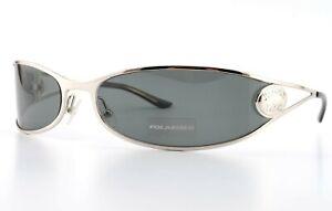 DIOR Sonnenbrille J'ADORE 2/N YB7 74-18 110 Lady Wrap Polarized Silver c2004