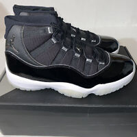 Nike Air Jordan 11 Retro Jubilee 25th Anniversary Mens Sz 8.5 Black CT8012-011