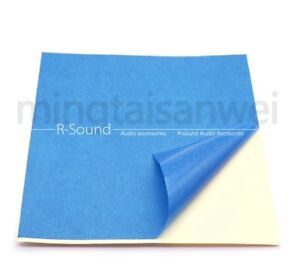 5pcs 3D Printer Heated Bed Blue High Temperature Tape Rubber Adhesive