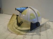 Cairns 1010 Fire Helmet with Full Face Shield - White