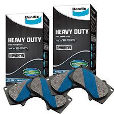 Bendix Heavy Duty Front and Rear Brake Pad Set DB2174 & DB2175
