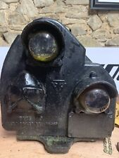 More details for vintage railway position light signal
