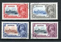 Bermuda 1935 Silver Jubilee set FU CDS