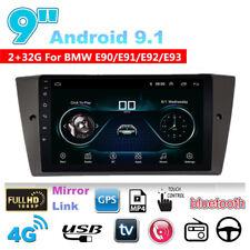 """Para BMW E90 E91 E92 E93 9"""" Android 9.1 cuatro núcleos GPS radio estéreo de coche 2 + 32GB"""