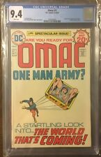 OMAC #1 (DC 9/1974) CGC 9.4! Jack Kirby Cover First Appearance