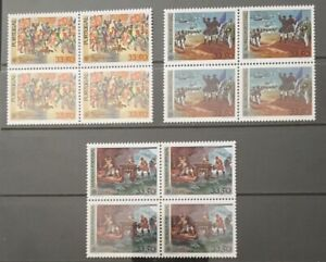 Portugal 1982 - Europa CEPT Portugal, Azores and Madeira Block Four set MNH