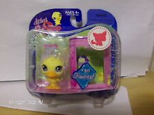 Littlest Pet Shop Fanciest Single Figure Duck Chick #917 NIB Rare Retired