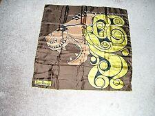 """Vtg """"Sant' Angelo"""" Ladies LION TIGER Creative Design Signed SILK SCARF, JAPAN"""