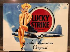 Lucky Strike Repro Metal Sign