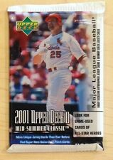2001 Upper Deck Mid-Summer Classic Baseball 8card HOBBY Pack (Ichiro Pujols RC)?