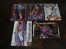2000-01 Basketball---Inserts---Lot Of 5---All Fleer Sets---All Vince Carter