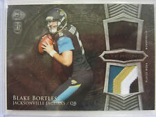 2014 Bowman Sterling Rookie  Dual Patch Card Blake Bortles of the Jaguars
