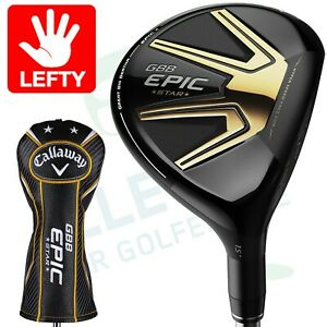 Callaway GBB EPIC Star Fairwayholz 5 18° Grand Bassara regular Flex Linkshänder