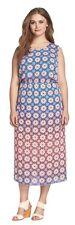 Vince Camuto Moroccan Mirage Plus Size 2X Maxi Dress, Retail $164