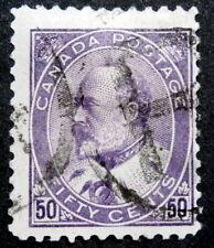 CANADA - King Edward VII :1903-08, 50 cents, Scott #95