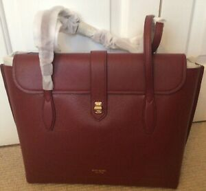 Kate Spade Large Leather Tote, Pinot Noir, BRAND NEW