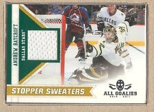 Andrew Raycroft  2010-11 Panini All Goalies Stopper Sweaters (Shiny)
