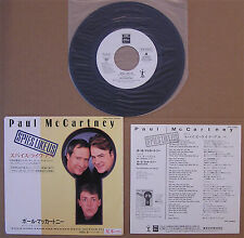 Paul McCartney 'Spies Like Us' Japan Original 1985 White Label Promo 45 Nice
