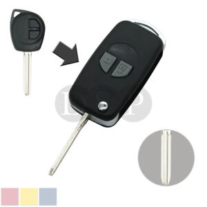 Flip Remote Key Case Shell fit for SUZUKI Grand Vitara Swift with Button Pad