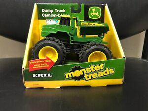 ERTL Monster Treads John Deere Dump Truck Ages 3+ (TBEK37596)