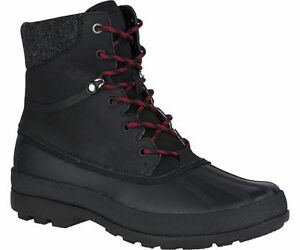 New Men`s Sperry Cold Bay WP Ice+ Vibram Arctic Grip Boot STS14383 STS14381