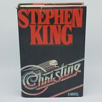 Christine by Stephen King 1983 - Viking Press Hardcover 1st Edition Dust Cover