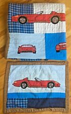 Pottery Barn Kids Cars Vehicles Quilt Twin sham