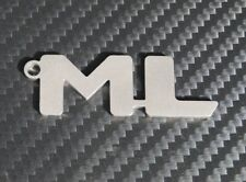 Mercedes ML w163 AMG Brabus Emblème porte clé en acier inoxydable Key Chain z002