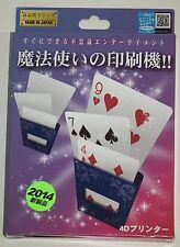 Tenyo 4-D Printer - T256 - Magic Trick, Brand New, English Instructions