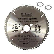 Kreissägeblatt EXTREME 210mm x30mm Sägeblatt Hartmetall Wippsäge Widia Universal
