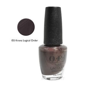 OPI Nail Polish I55 Krona-Locgical Order 0.5oz