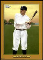 Babe Ruth 2020 Topps Turkey Red 2020 5x7 Gold #TR-58 /10 Yankees