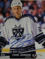 Craig Johnson  Hand Signed Autographed 8x10 Photo Los Angeles Kings  COA