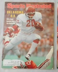 Billy Sims Oklahoma 1977 Sports Illustrated
