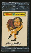 1974 Kelloggs Footy Stars Sticker Kevin Bartlett Richmond Mint unopened packet r
