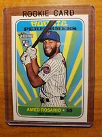 Amed Rosario 2018 Topps Heritage High# Rookie Performers Insert #RP-AR Mets RC