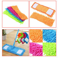 Replacement Chenille Pad Flat Mop Head Refill Accessories Home Floor Cleaning