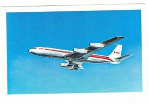 TWA AIRLINES--PLANE POSTCARD