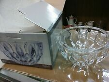 NEW SHANNON CRYSTAL UPTOWN CRYSTAL BOWL BY GODINGER