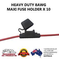 10 X Inline Maxi Blade Fuse Holder Heavy Duty 8awg