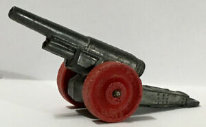 "1930s MANOIL #69 Cannon 3.5"" wood wheels version"