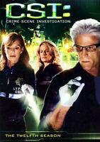 CSI: Crime Scene Investigation: The Complete Twelfth Season (Season 12) DVD NEW