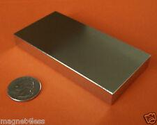 1 Strong 4x2x1/2 Inch Grade N42 Rare Earth Neodymium Block Magnet