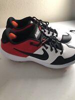 Nike Alpha Huarache Elite 2 Low Baseball Cleats Red/Black AJ6873-106 Size 7