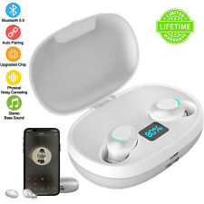 TWS Wireless Bluetooth Headset 5.0 Earbuds LED Display with MIC Charging Box