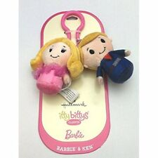 Barbie and Ken itty bittys® Clippys Stuffed Animals